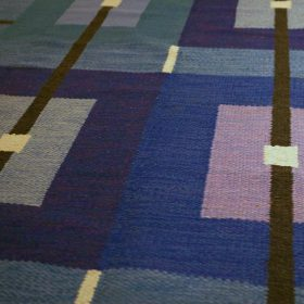 Swedish Flat Weave Carpet by Agda Osterberg at GoodDesignShop.co