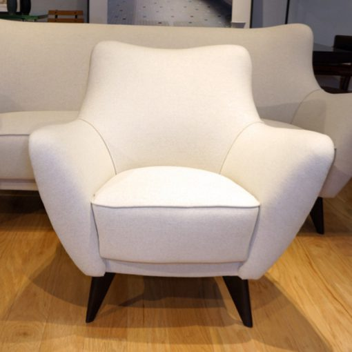 Pair of Perla chairs by Giulia Veronesi for ISA BergamoPair of Perla chairs by Giulia Veronesi for ISA Bergamo