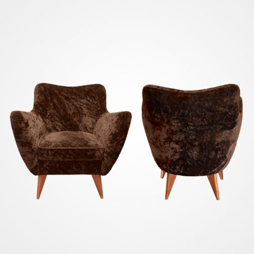 Pair of Perla Chairs by G. Veronesi